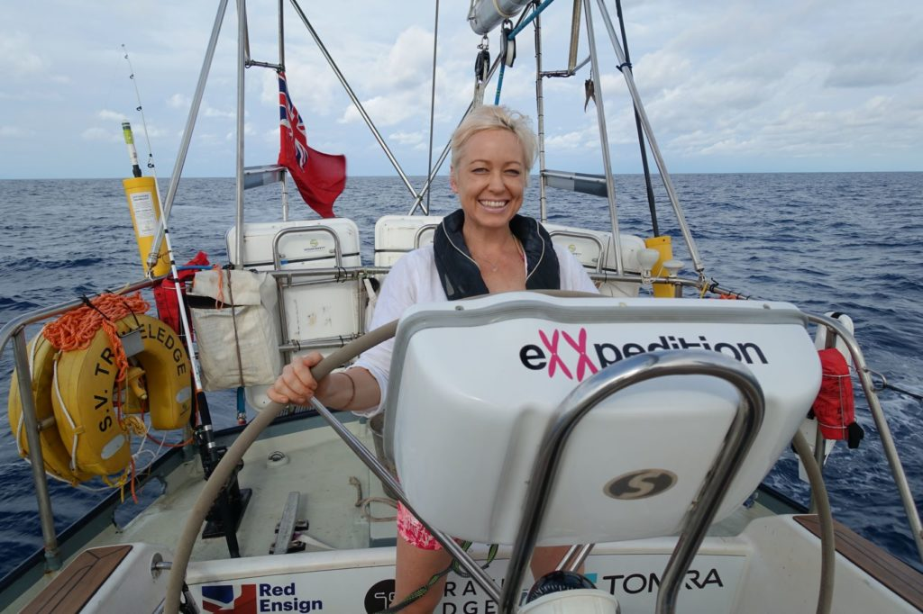 NHS Doctor Hilary Nash returned from Galapagos where she completed a philanthropic All Women Sailing Exxpedition, just in time before the lockdown and to step up to fight Covid-19.