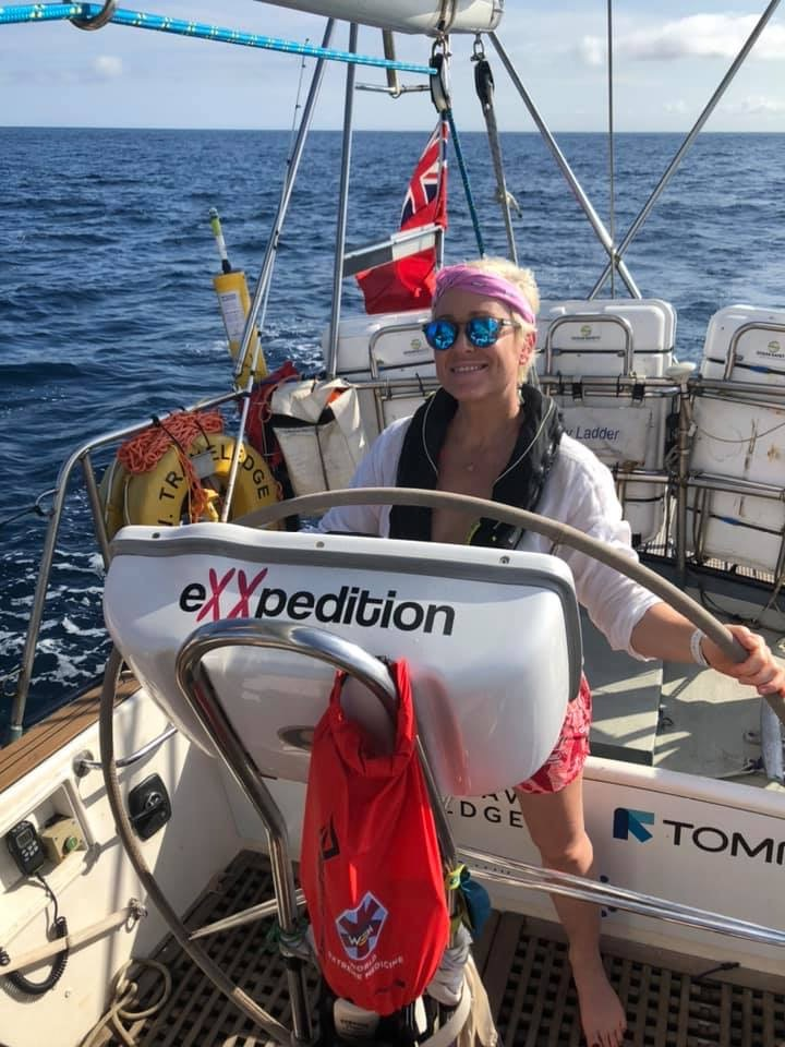 Dr Hilary Nash tells us about the research eXXpedition Round The World 2019-2021 is an all-female sailing voyage and scientific research mission. Over 38,000 nautical miles and 30 voyage legs, starting and ending in the UK, eXXpedition crews will explore plastics and toxics in our ocean.