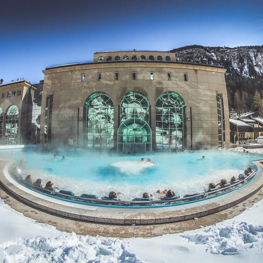 the sunshine can often be found at the top, where sprawling ski hills and quaint cabins sprinkle the mountain ranges. Each year, just before the springtime blooms and the sunshine hours extend into night, I set off on a spa escape