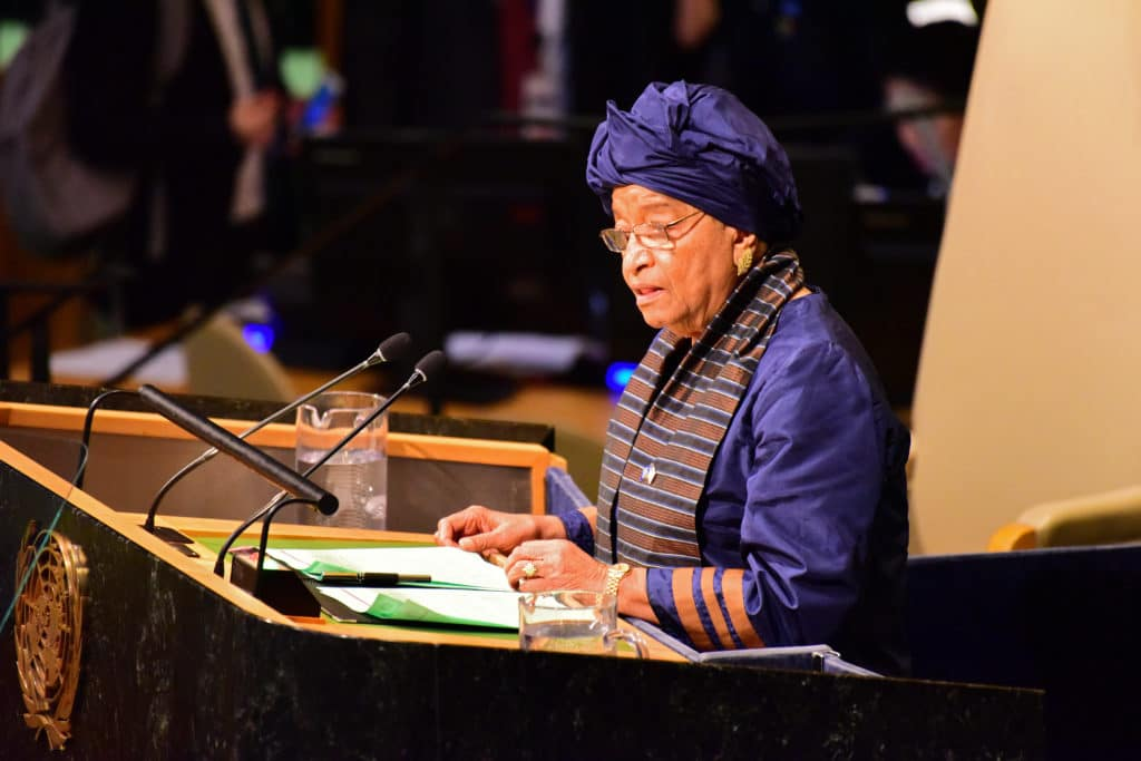 Ellen Johnson Sirleaf, the African Woman leader who broke all odds to rise to be the President of Liberia