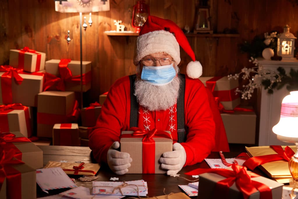 A socially distanced Santa, The biggest test of our resilience