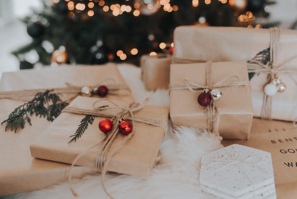 brown gift box lot