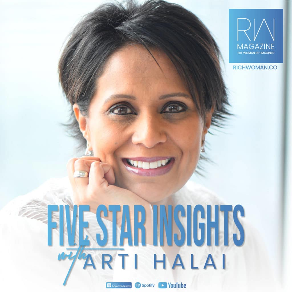 Welcome to Five Star Insights with Arti Halai. The show where we speak to incredible people from a wide range of backgrounds and sectors, all of whom are making a real difference in society. Each show will start with an introduction about the guest and their achievements, before we dive straight into finding out more about the individual with their choice of a location, cuisine, music, literature and art. So sit back and enjoy!