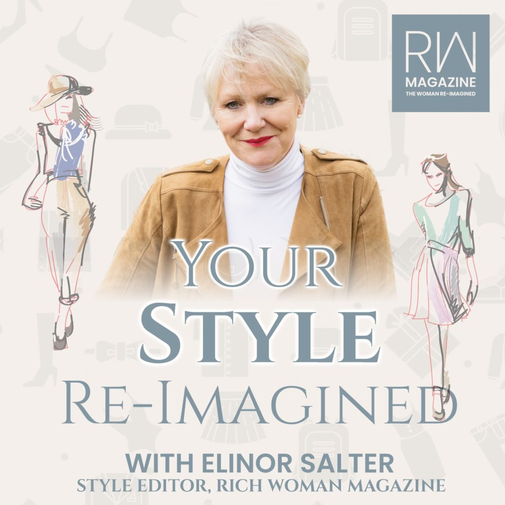 The key to exude confidence when you create your signature life style isn't following all of the latest fashion trends but reflecting who you truly are. But what if you don't know what your style is? If you want to create your signature style or want to use your existing wardrobe with confidence, keep listening! Style Editor Elinor Salter is traveling around the world interviewing designers, stylists and influences to find out how their designs ideas, inspiration can impact your style and self confidence.